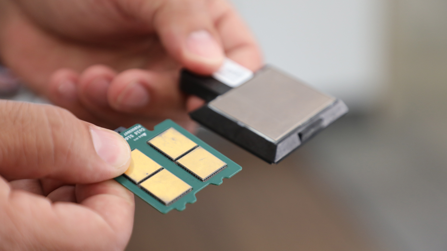 A thermoelectric computer chip.